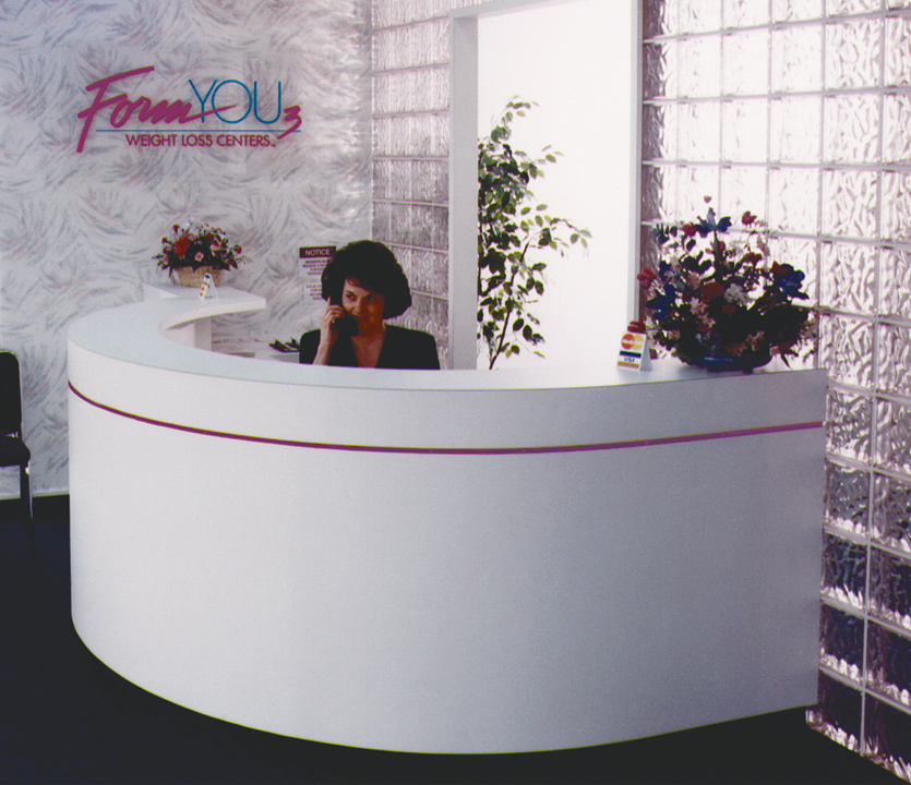 Form You 3 Center Reception Desk